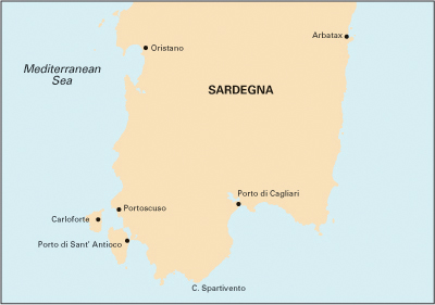 South Sardegna (jih Sardínie)