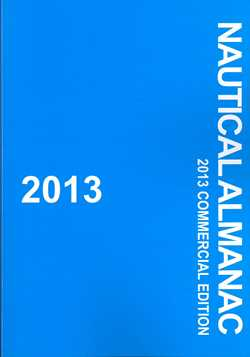 Nautical Almanac 2013 Commercial Edition